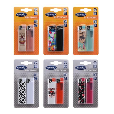 Pocket lighters in blister